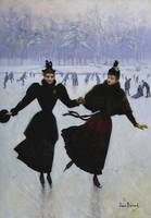 Jean Béraud~The Skaters