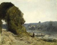 Jean-Baptiste-Camille Corot~The Departure of the B