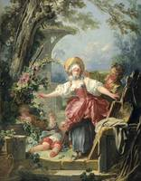 Jean-Honoré Fragonard~Blind-Man's Buff
