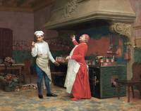 Jehan Georges Vibert~The Marvelous Sauce