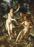 Joachim Wtewael~Adam and Eve