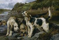John Sargeant Noble~Otter Hunting (