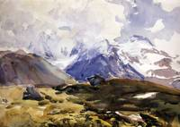 John Singer Sargent~The Simplon