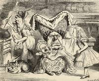 John Tenniel~The Duchess with her family, from 'Al