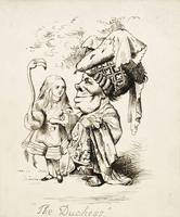John Tenniel~The Duchess, c