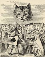 John Tenniel~The King of Hearts arguing with the E