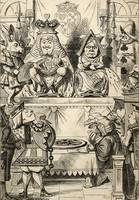 John Tenniel~The Trial of the Knave of Hearts, fro