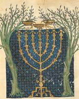 Joseph Asarfati~Illumination of a menorah, from th