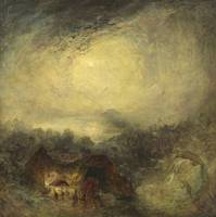 Joseph Mallord William Turner~The Evening of the D