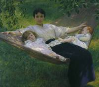 Joseph Rodefer De Camp~The Hammock