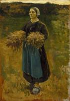 Jules Breton~The Gleaner