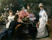 Julius LeBlanc Stewart~Spring Flowers (In the Cons