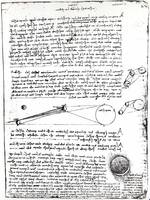 Leonardo da Vinci~Astronomical diagrams, fol
