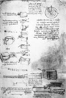 Leonardo da Vinci~Facsimile of a page from the Cod