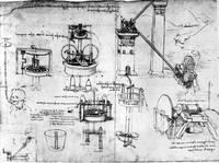 Leonardo da Vinci~Hydraulic devices (Archimedean S