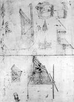 Leonardo da Vinci~Machinery designs, fol