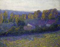 Lilla Cabot Perry~Autumn Afternoon, Giverny, undat
