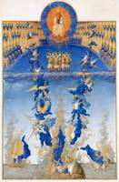 Limbourg Brothers~The Fall of the Rebel Angels fro