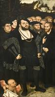 Lucas Cranach the Younger~Martin Luther and the Wi