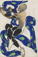 Léon Bakst~Costume Design for Vaslav Nijinsky as t