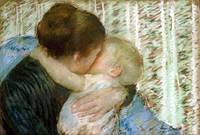 Mary Cassatt~A Goodnight Hug