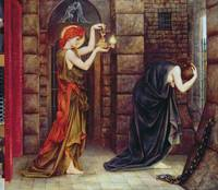 Mary Evelyn de Morgan~Hope in the Prison of Despai