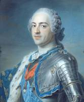 Maurice-Quentin de La Tour~Portrait of King Louis
