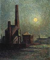 Maximilien Luce~Machine by Moonlight