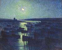 Maximillien Luce~Camaret, Moonlight and Fishing Bo