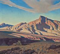 Maynard Dixon~Home of the Desert Rat