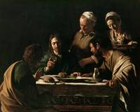 Michelangelo Merisi da Caravaggio~Supper at Emmaus