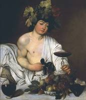 Michelangelo Merisi da Caravaggio~The Young Bacchu