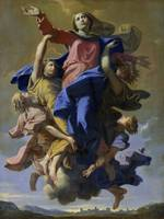 Nicolas Poussin~The Assumption of the Virgin