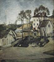 Paul Cezanne~The House of Doctor Gachet at Auvers