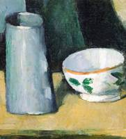 Paul Cézanne~Bowl and Milk-Jug