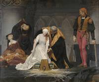 Paul Delaroche~The Execution of Lady Jane Grey