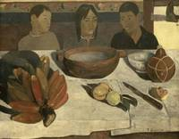 Paul Gauguin~The Meal (The Bananas)