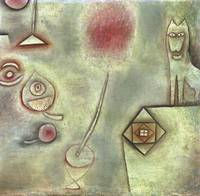 Paul Klee~Still Life with Animal Statuette
