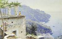 Peder Monsted~The Ravello Coastline