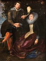 Peter Paul Rubens~The Artist and His First Wife, I