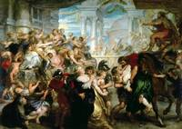 Peter Paul Rubens~The Rape of the Sabine Women