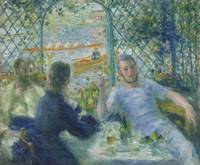 Pierre-Auguste Renoir~Lunch at the Restaurant Four