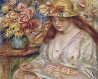Pierre-Auguste Renoir~The Reader