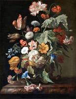 Rachel Ruysch~Still-Life with Flowers