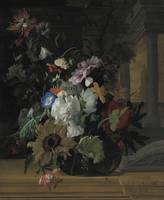 Rachel Ruysch~Vase of Flowers