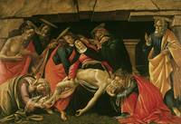 Sandro Botticelli~Lamentation of Christ