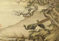 Shen Nanpin~Album of Birds and Animals (Peacocks)