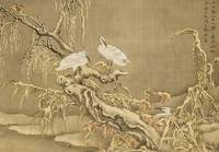 Shen Nanpin~Album of Birds and Animals (Wintry Sto