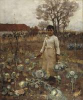Sir James Guthrie~A Hind's Daughter