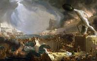 Thomas Cole~The Course of Empire - Destruction